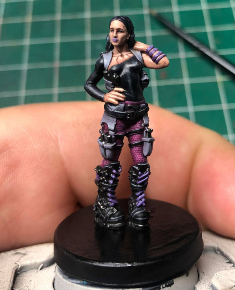 Team Monster Miniatures - Nox Arya
