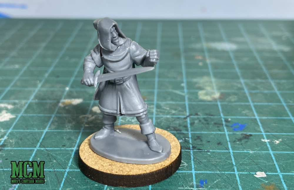 Oathmark Elf Light Infantry in Frostgrave - A Thief or Thug