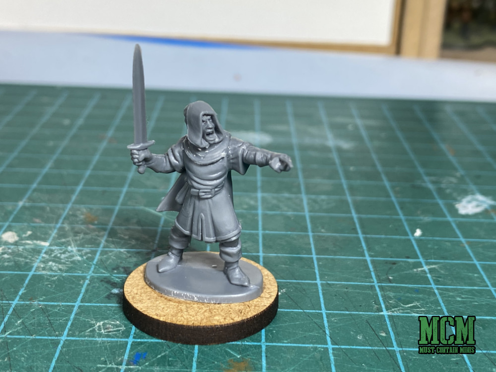 Oathmark Elf Light Infantry in Frostgrave - A wizard