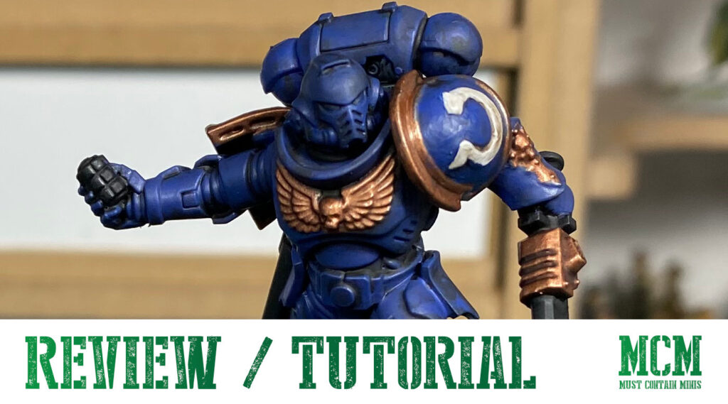 Tutorial & Review – Painting New40K Space Marines
