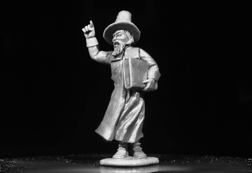 Flint and Feather Puritan Minister 28mm miniature