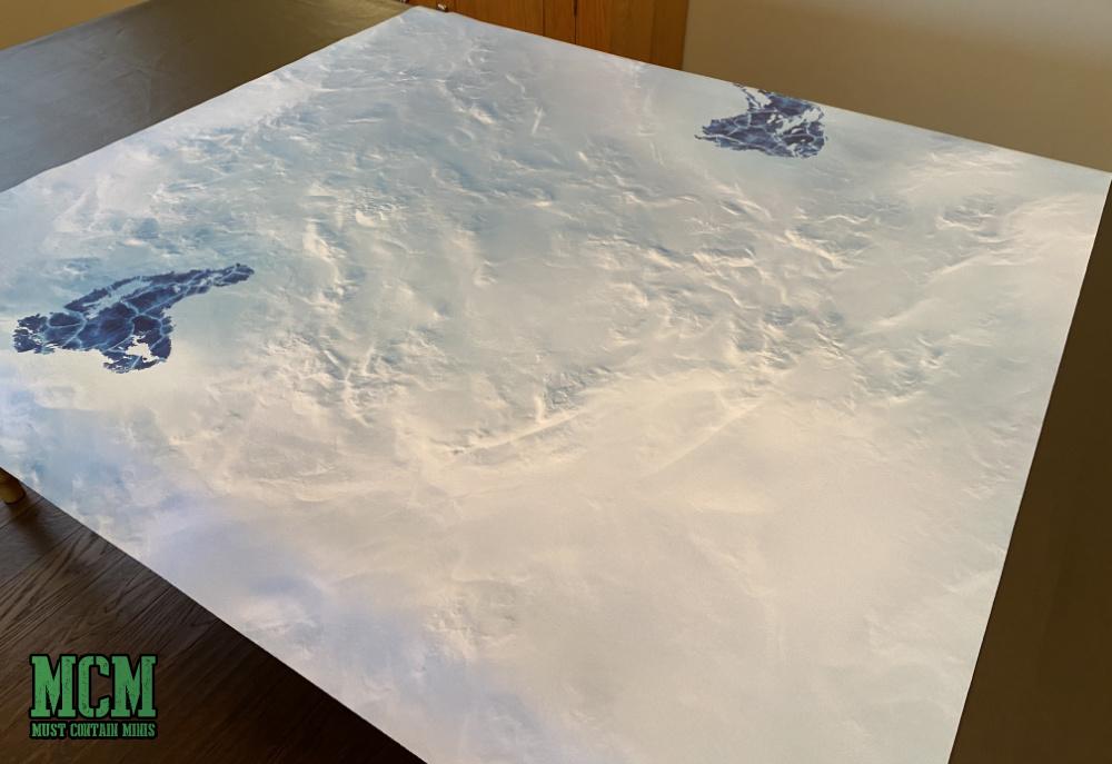 Frozen Lake Gaming Mat