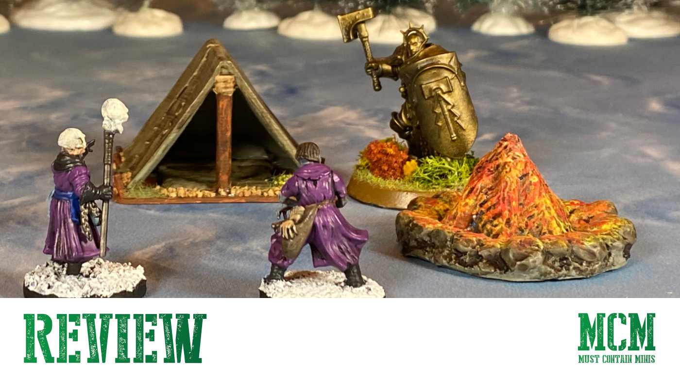 Fire Pit and Tent Review – Wargame Terrain
