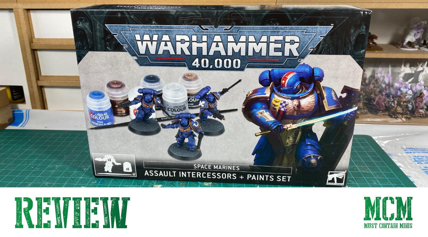 Assault Intercessors + Paints Set Review