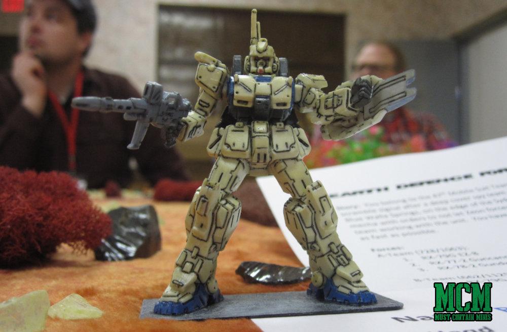 Samurai Robots Battle Royale - Gundam style miniature gaming