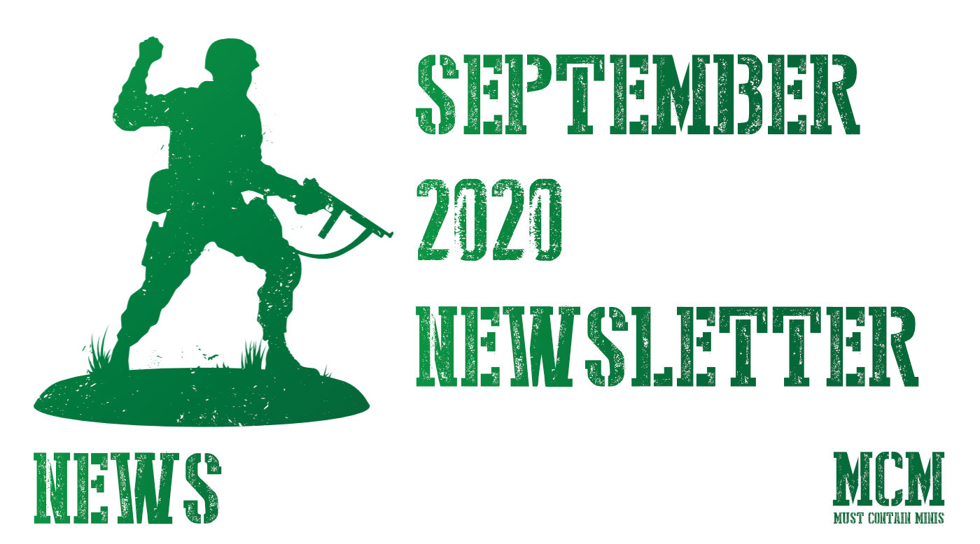 September 2020 – Must Contain Minis Newsletter