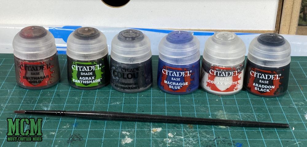 Space Marine Paint Colours