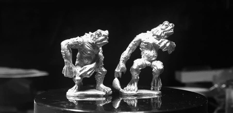 Crucible Crush News - 28mm Deep Ones Miniatures for Black Sun