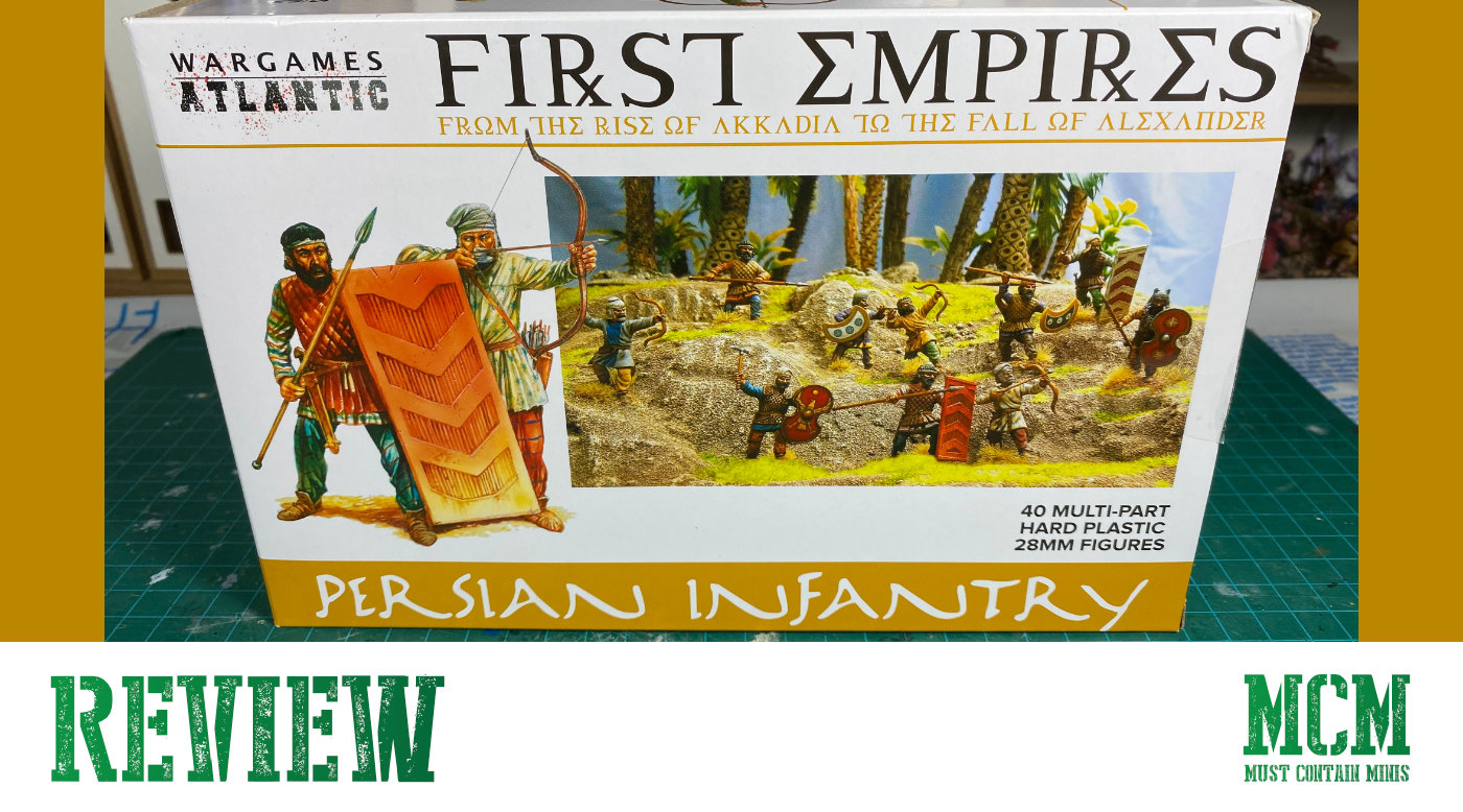 Wargames Atlantic Persian Infantry Review