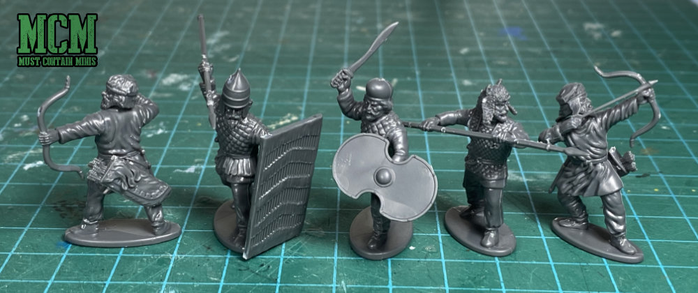 Hard Plastic Persian Infantry miniatures