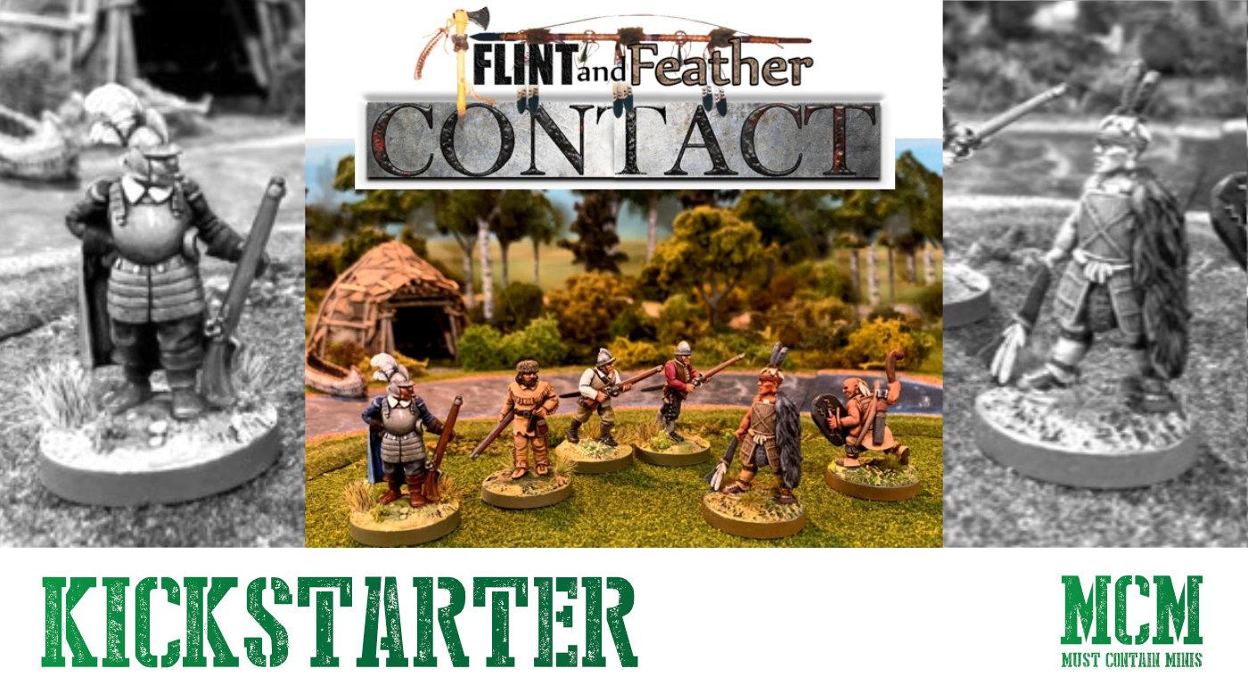 On Kickstarter – Flint and Feather: Contact