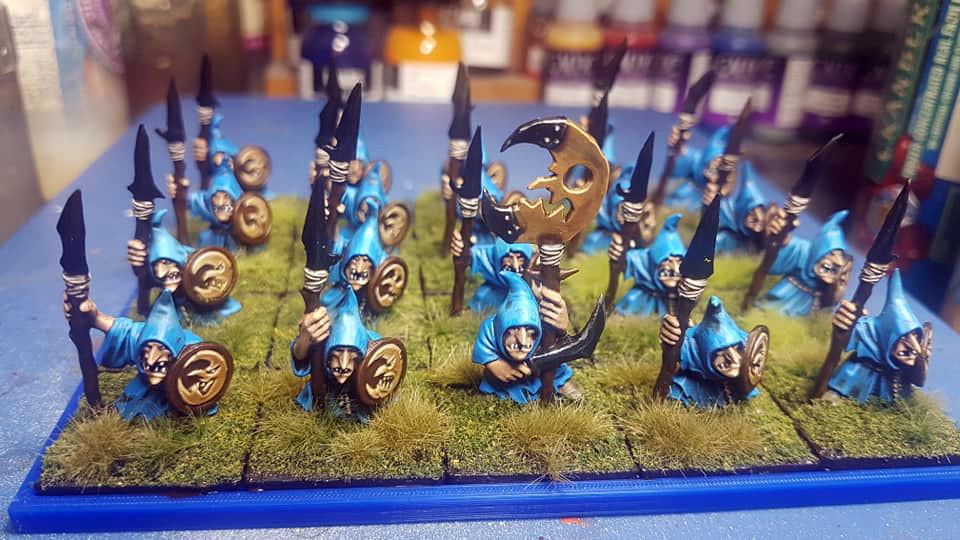 Gloomspite Glitz miniatures