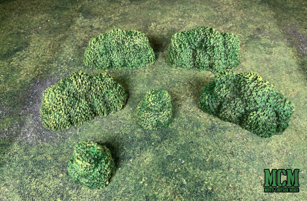 RPG terrain - bushes