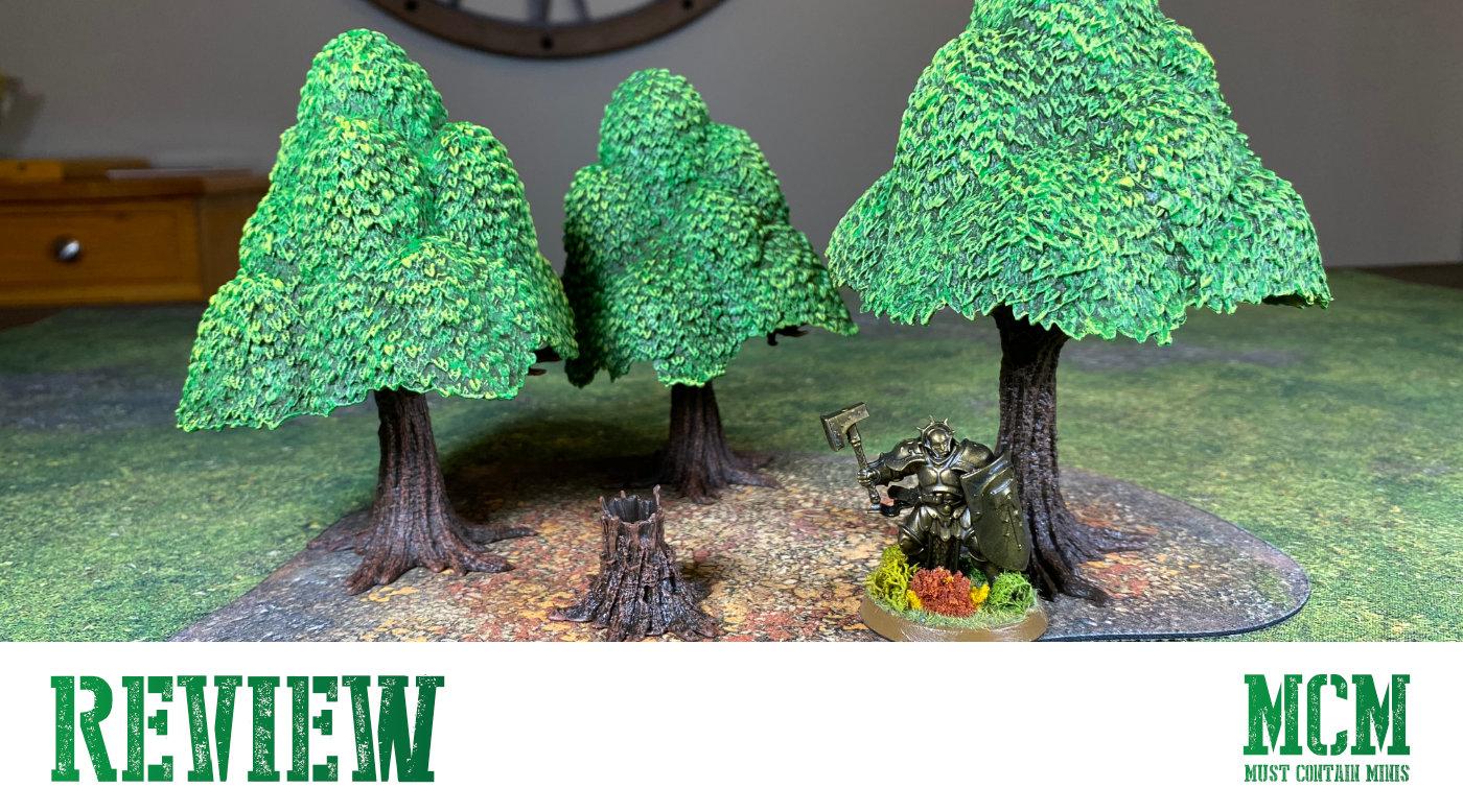 Monster Scenery: Verdant Forest Review – Game Terrain
