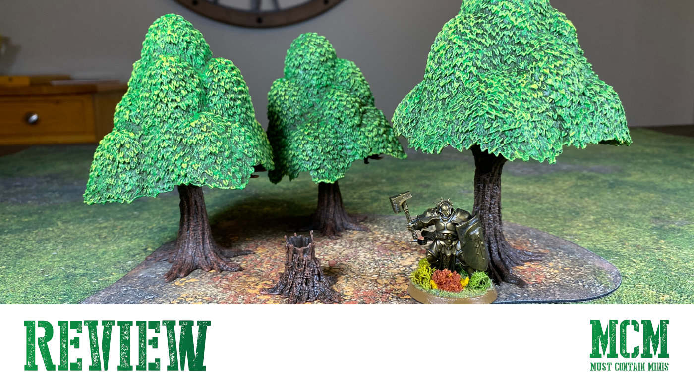 Monster Scenery: Verdant Forest Review – Game Terrain