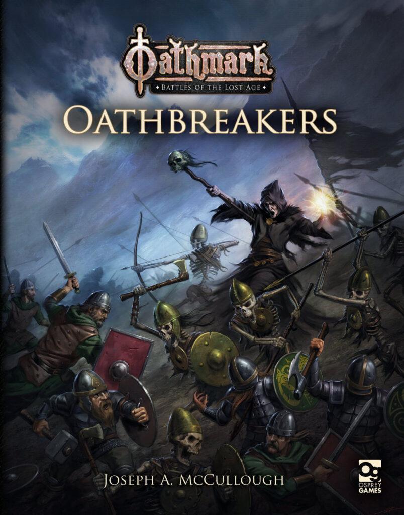Oathmark Oathbreakers Cover art - undead armies in Oathmark