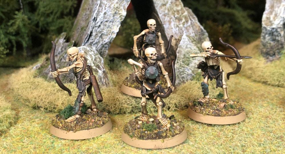 28mm skeleton archers