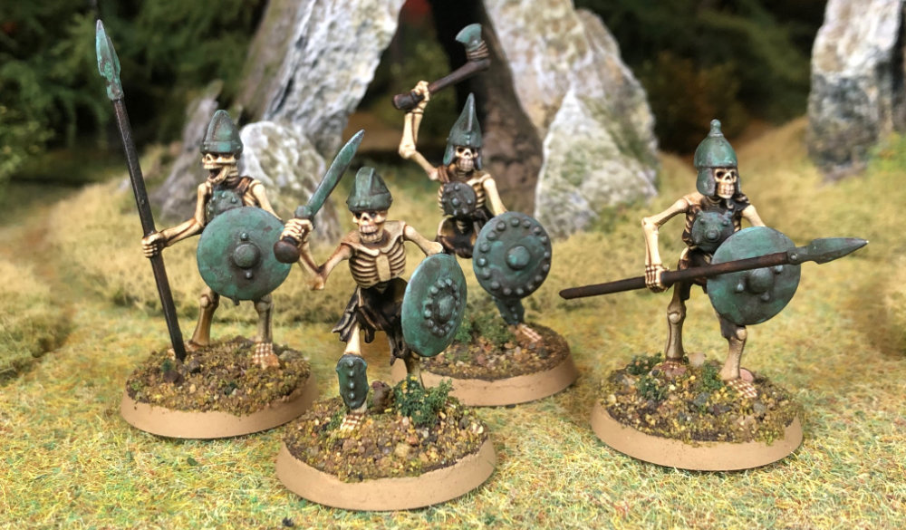 Skeleton Warrior miniatures