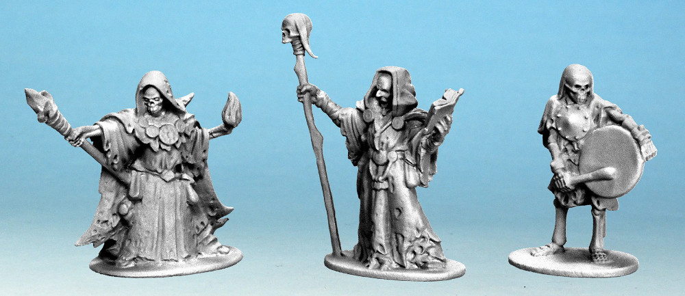 28mm Undead character miniatures