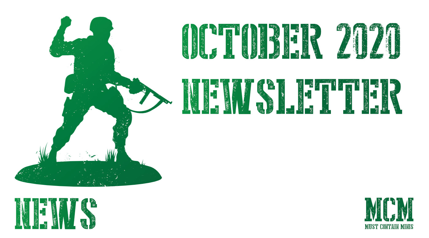 October 2020 – Must Contain Minis Newsletter