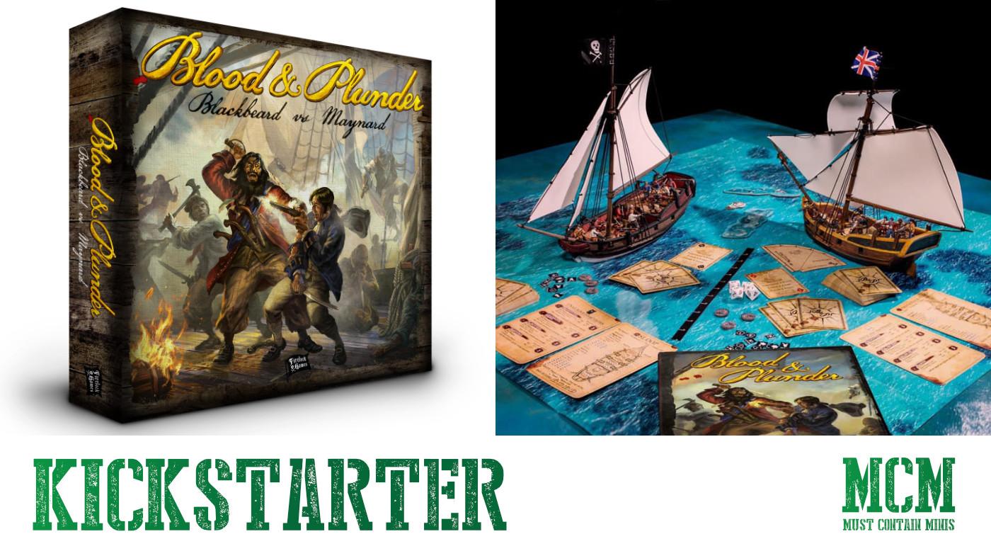 Blood & Plunder: Raise the Black Kickstarter