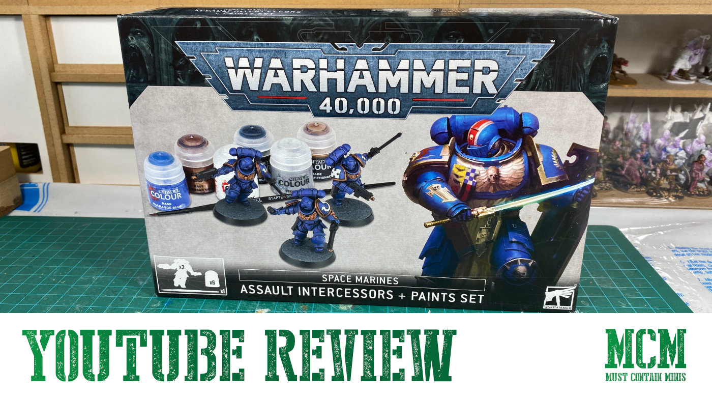 A New YouTube Video – Start Painting Space Marines