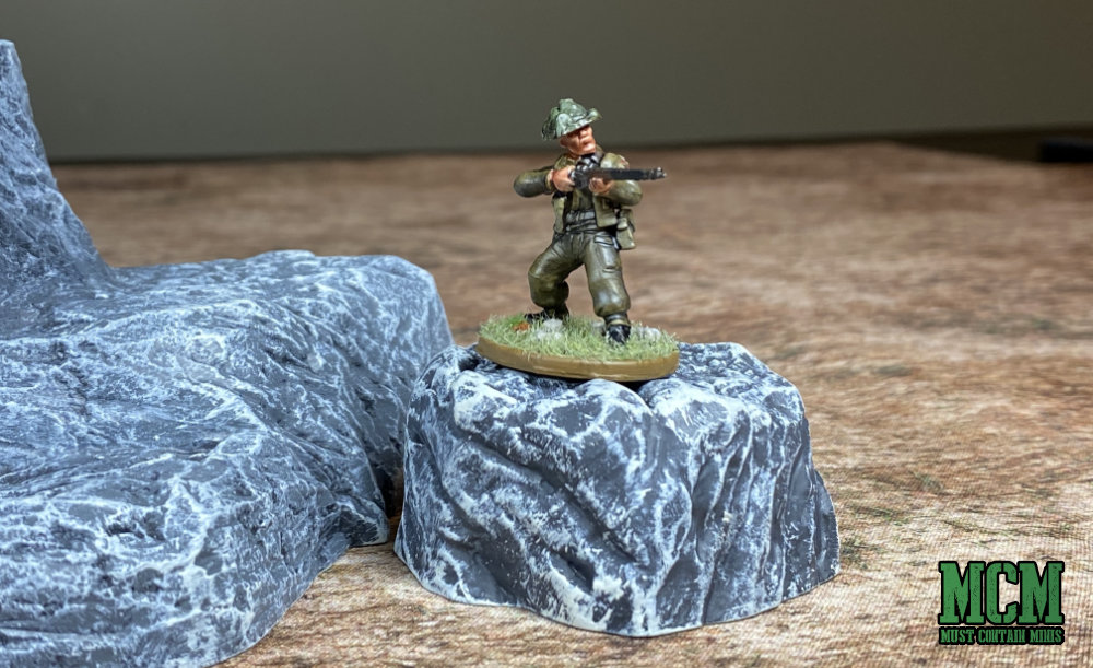 I just love this shot of a British Bolt Action miniature