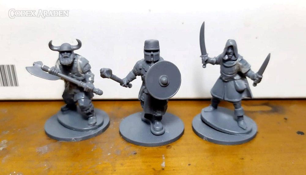 Frostgrave Knights Kitbashing