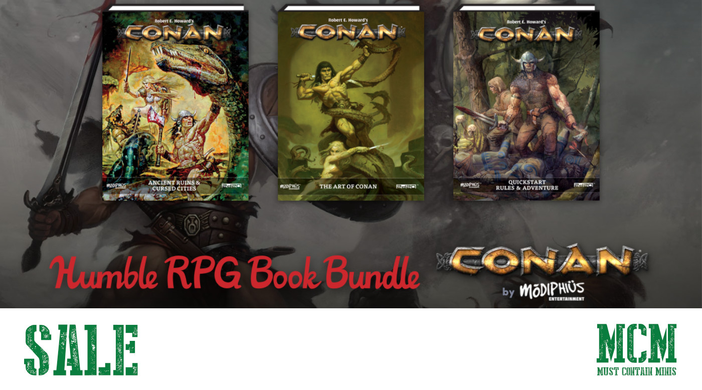 Conan RPG Humble Bundle