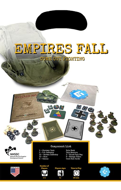 Gaddis Gaming Empires Fall Starter Set contents.