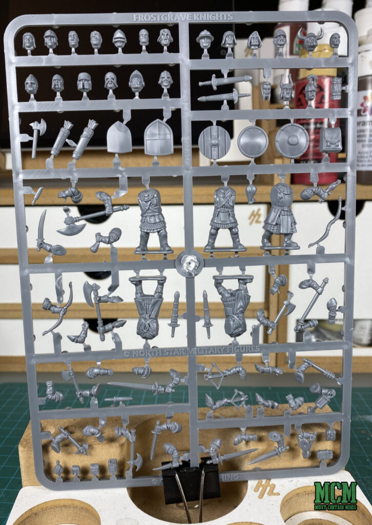 Plastic Frostgrave Knights Sprue  Osprey Games and North Star Military Figures.