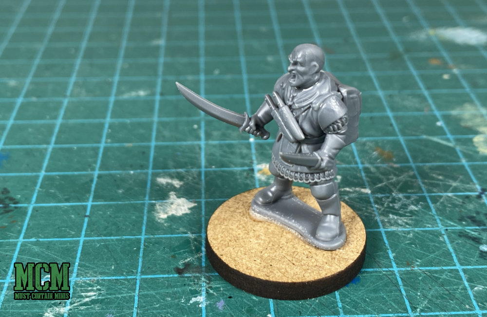 A 28mm Treasure Hunter - Frostgrave Knights Review