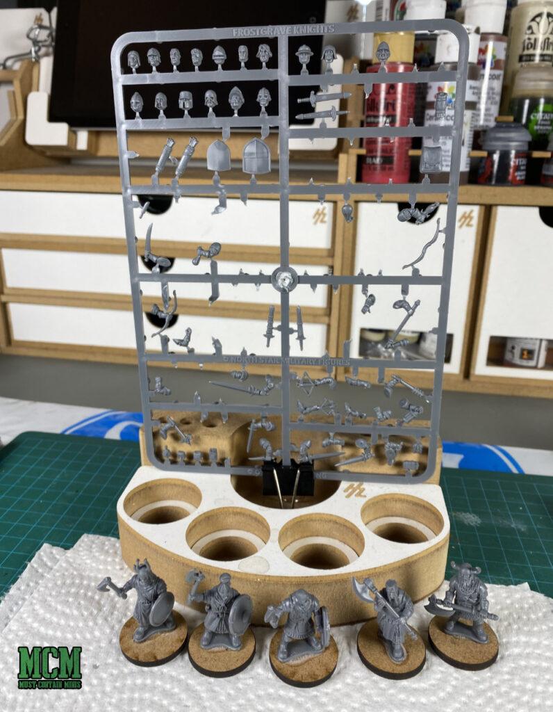 Building Frostgrave Knights - leftover bits