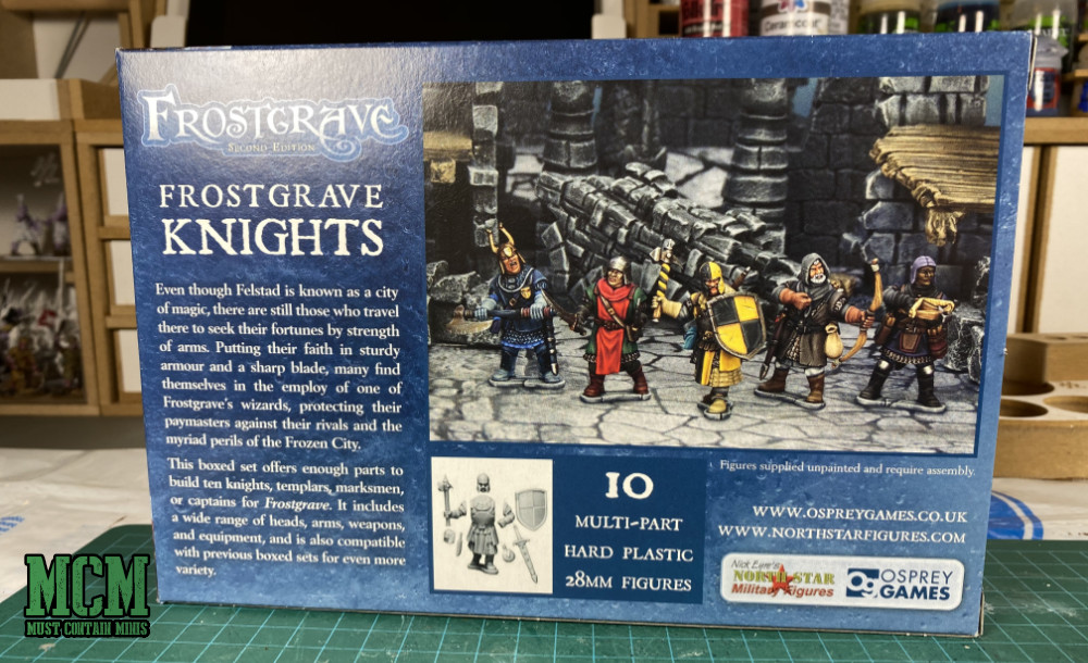 Frostgrave Knights unboxing
