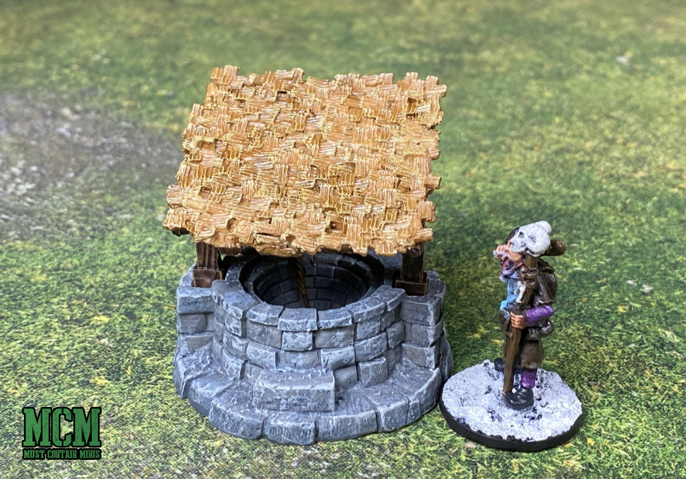 The roof of the well - 28mm terrain