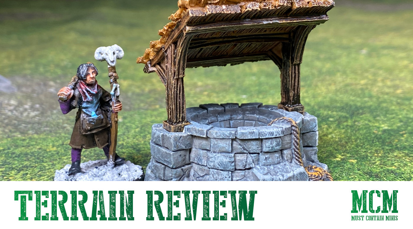 Monster Scenery: Village Well Review