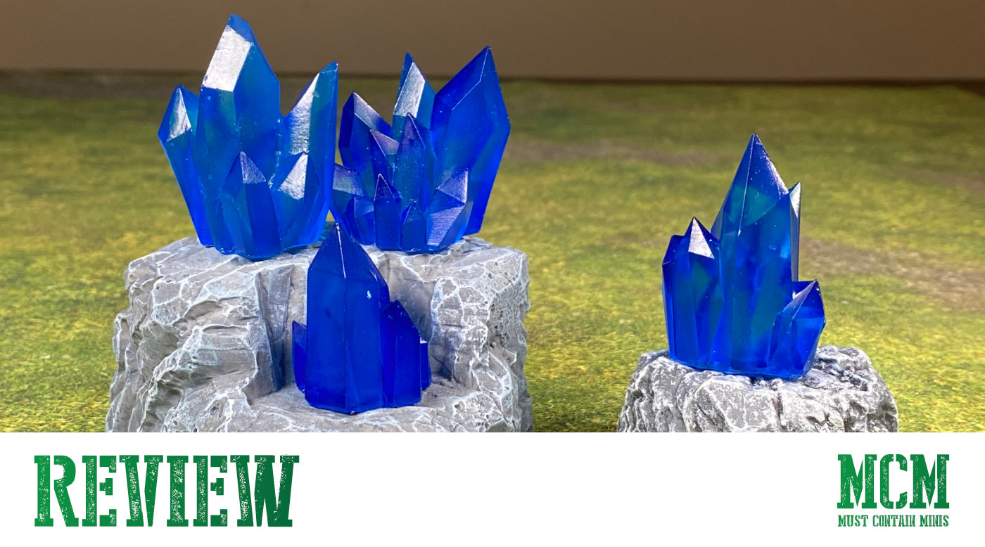 Monster Scenery Terrain Review – Crystal Nodes