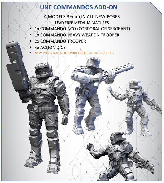 UNE Commandos Add-On
