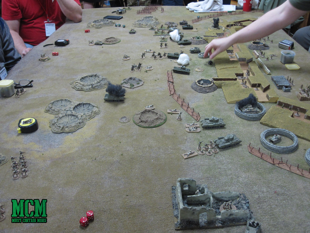 WW2 at a Miniature wargaming convention in Hamilton Ontario Canada - Broadsword 8