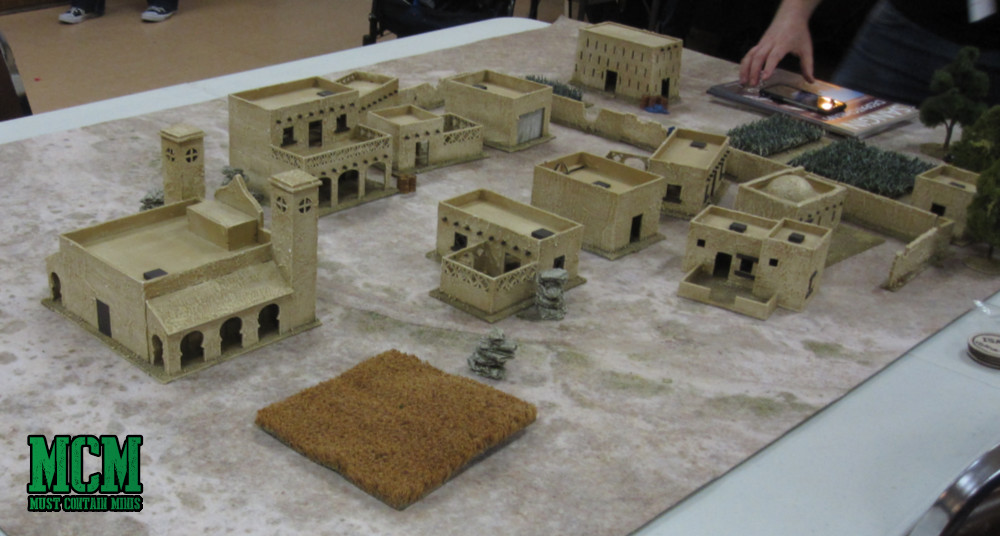 A Middle East gaming table