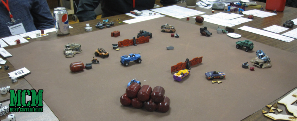 Gaslands the miniatures game