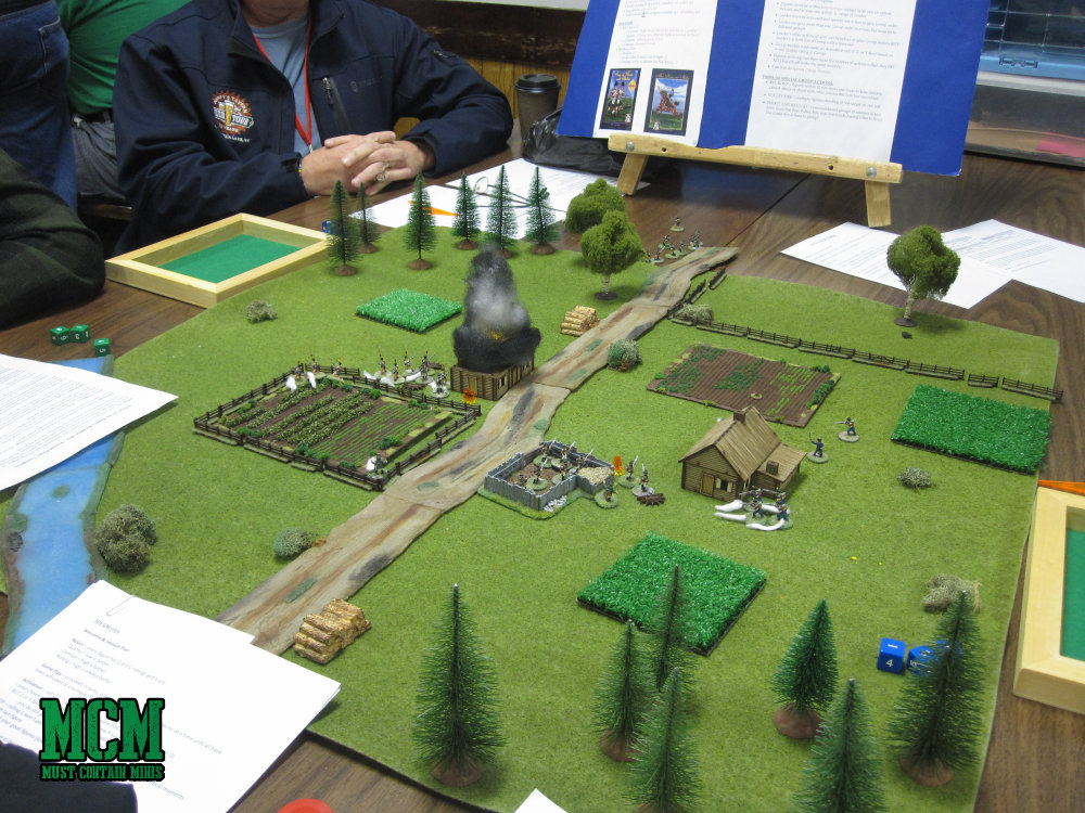 Historical wargaming at an Ontario based convention