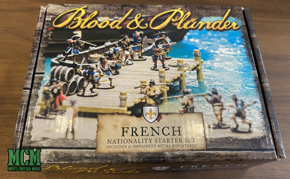 Blood and Plunder French Nationality Starter Set