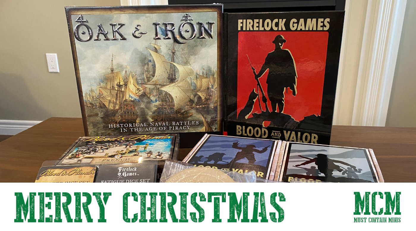 Merry Christmas!!! Gifts from Firelock Games