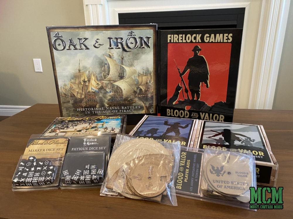 My Firelock Games Christmas haul for 2020
