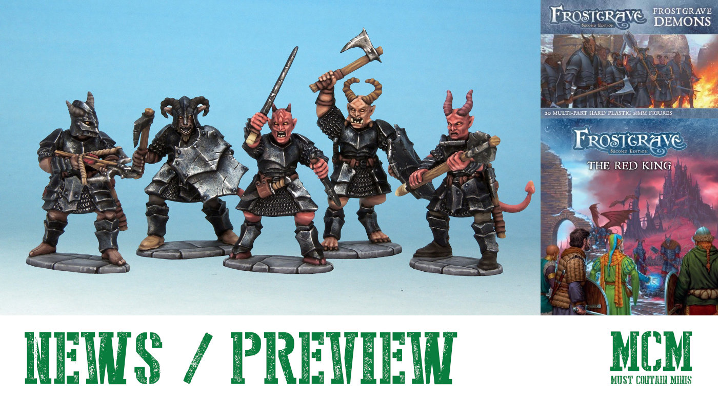 Frostgrave Demons and The Red King