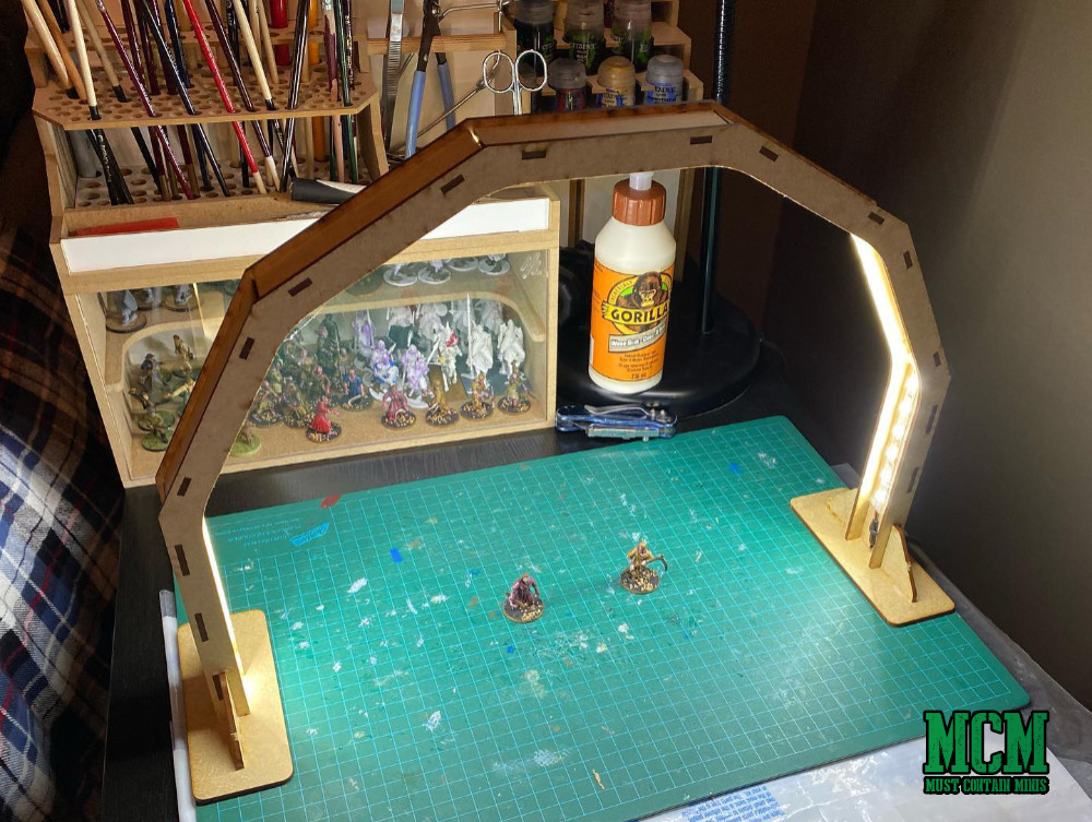 Top 5 Gift Ideas for Miniature Wargamers - An LED Workbench Light