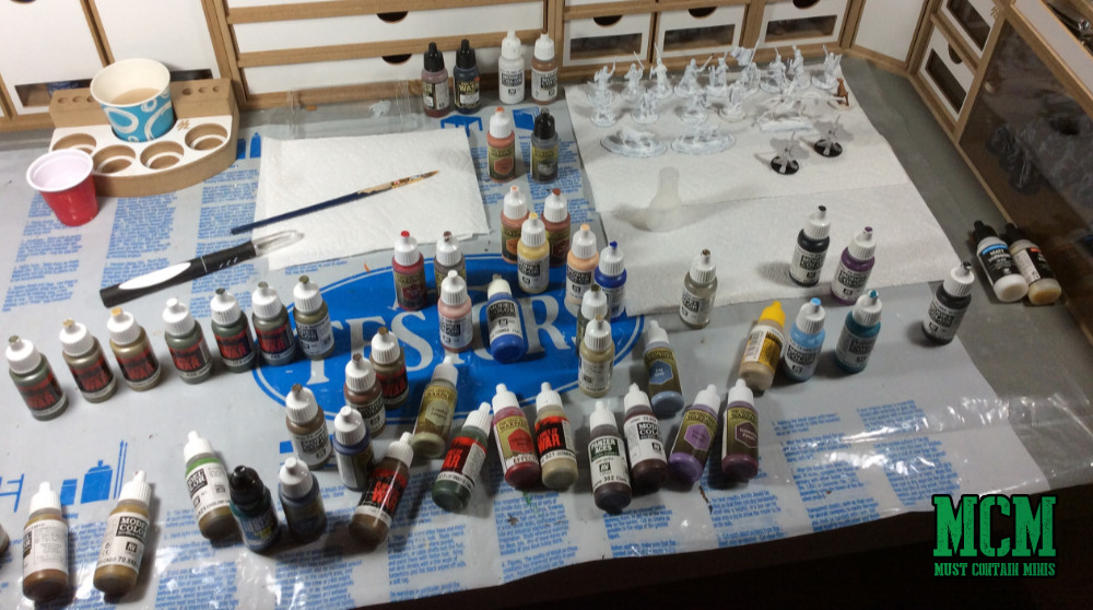 There is no such thing as too many paints for a miniatures gamer.