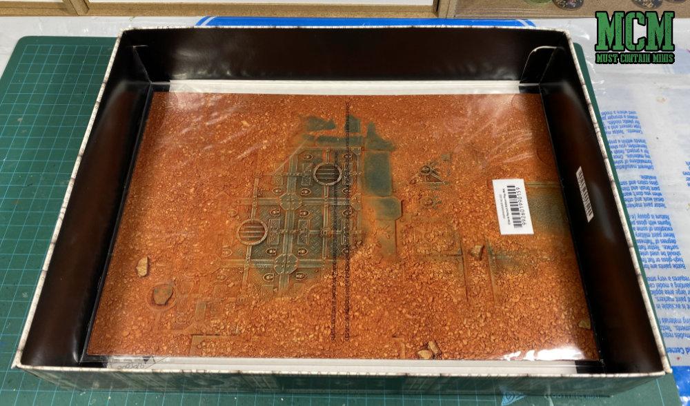 GW paper gaming mat