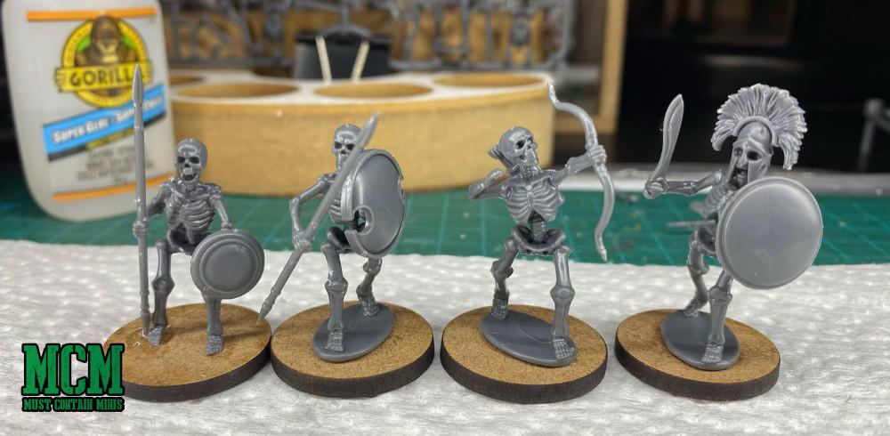 Wargames Atlantic Skeletons - 28mm miniatures